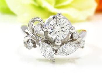 リフォームをして婚約指輪にすることも