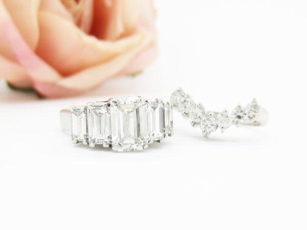リフォーム前のダイヤモンドジュエリー
