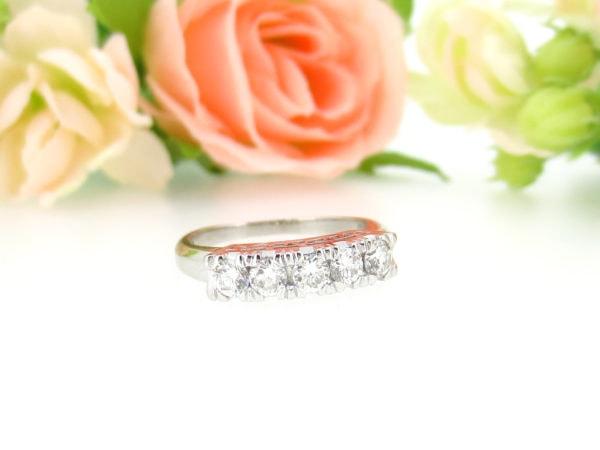リフォーム前のダイヤの指輪