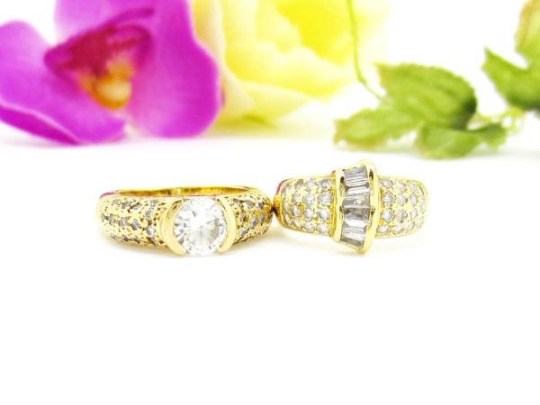 代々受け継がれる特別なダイヤのリングをリフォーム