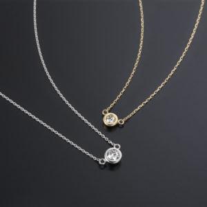 K18WG・YGラザールダイヤネックレスLD484-300x300