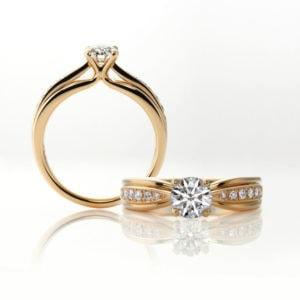 K18スペシャルダイヤモンドリング