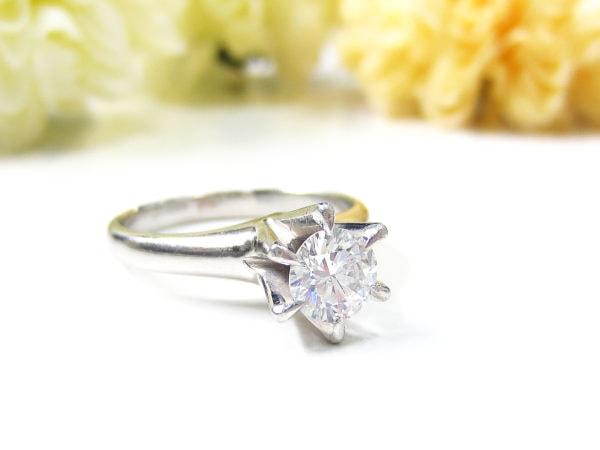 1カラットダイヤモンドの指輪をリフォーム