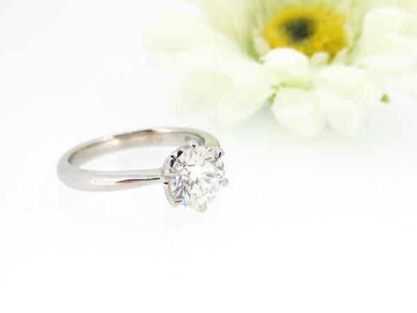 リフォーム前のダイヤのシンプルな指輪