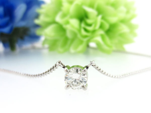 シンプルな1カラットダイヤモンドネックレスをリフォームしたい
