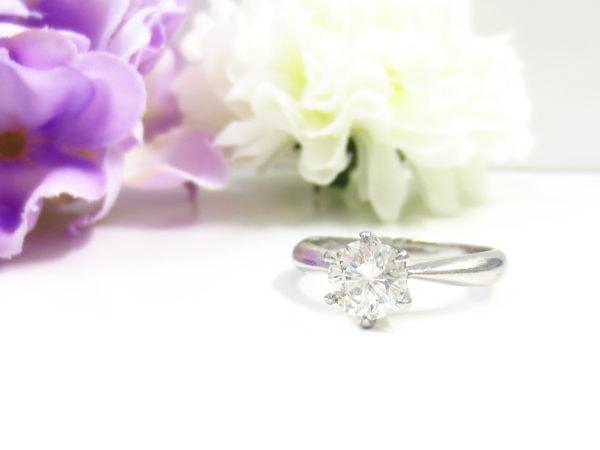 シンプルなダイヤのリングを華やかにリフォームしたい
