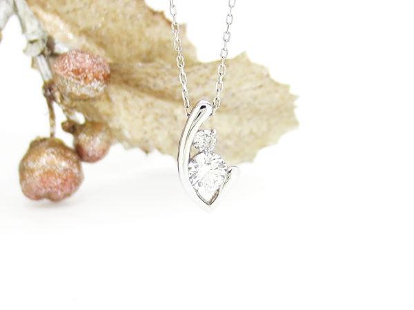 デザイン無限、ジュエリーハナジマでリフォームしたダイヤのネックレス