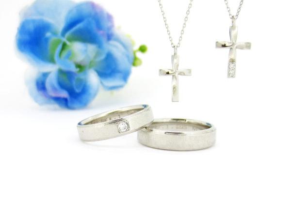 夫婦の結婚指輪とネックレスをリフォームしたい