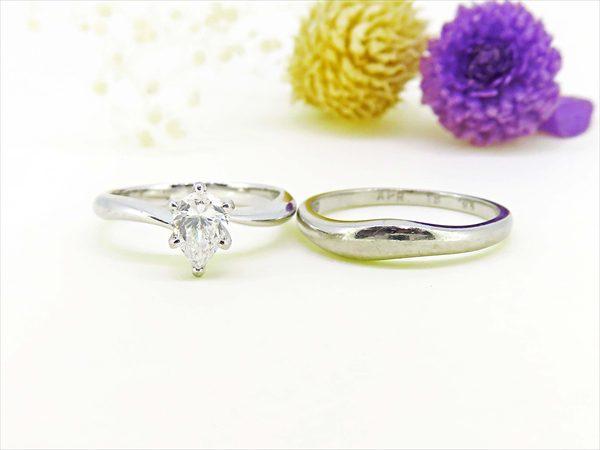 結婚指輪と婚約指輪をリフォーム