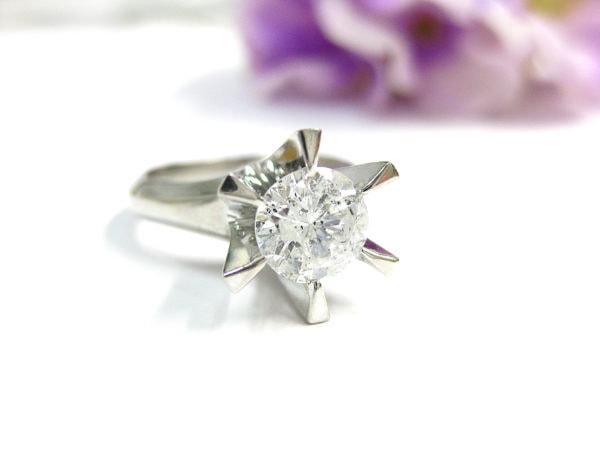 1カラットのダイヤの指輪をリフォームしたい