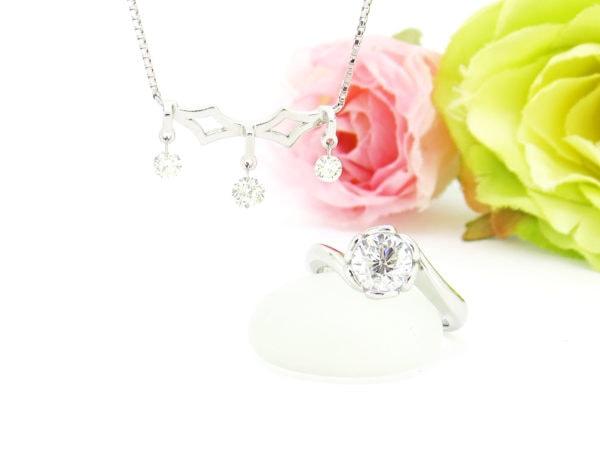 個性的なデザインに生まれ変わったダイヤのリフォームジュエリー