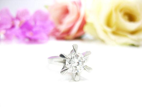 祖母から受け継いだ思い出の1カラットダイヤの指輪をリフォーム