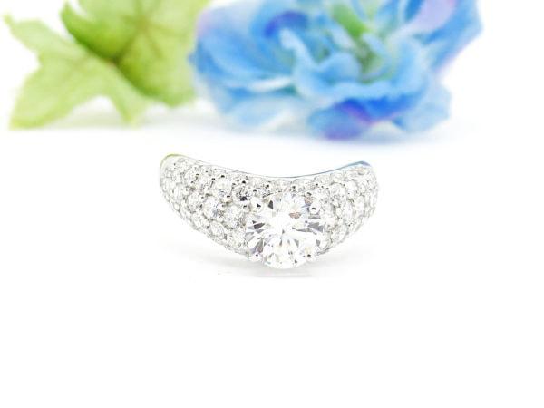婚約指輪のリフォーム、アフター画像