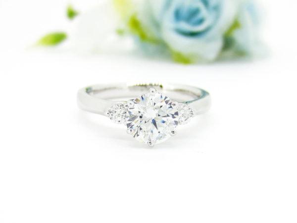 1カラットのダイヤをリフォームして新たな指輪へ