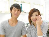 婚約指輪(エンゲージリング)のお客様の写真_6