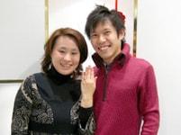 婚約指輪(エンゲージリング)のお客様の写真_8