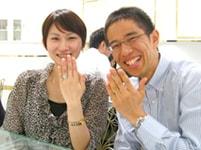 婚約指輪(エンゲージリング)のお客様の写真_12